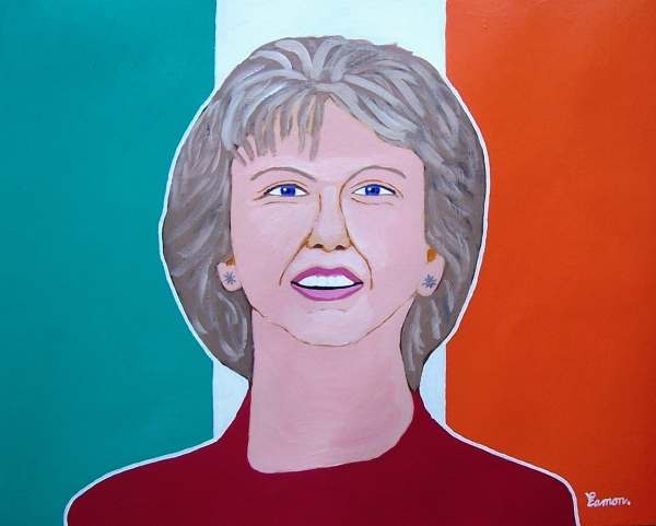 Mary McAleese by EAMONREILLY